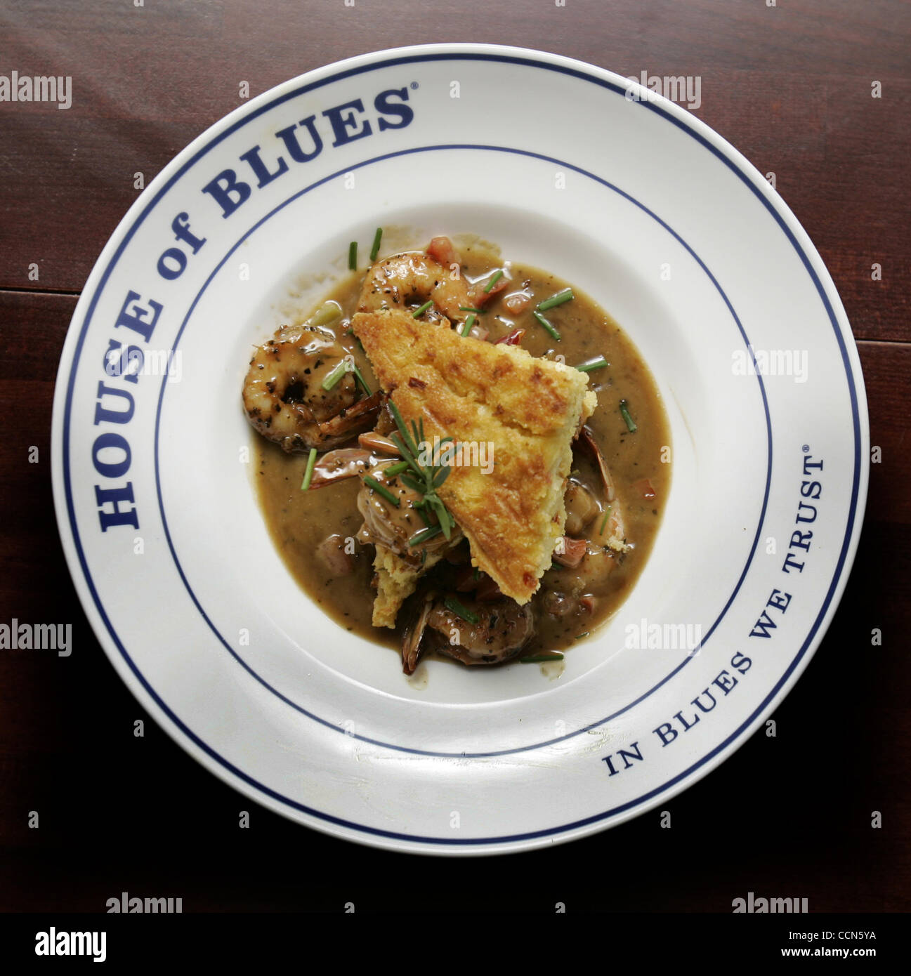 (Published 5/26/2005, Night & Day-2) May 18---This dish is called Voodoo - Stock Image