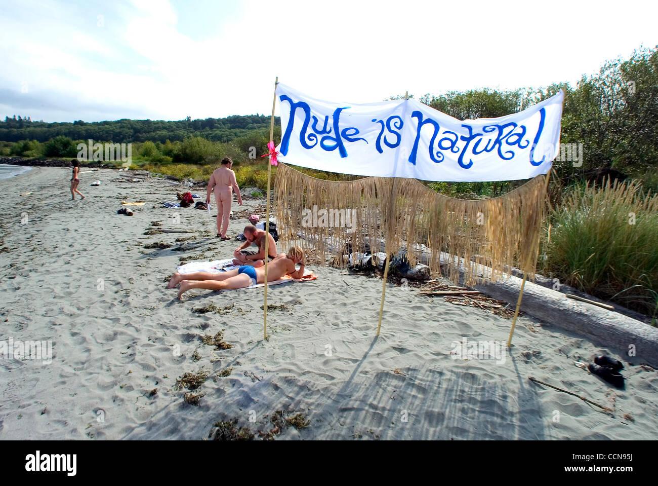 Nude beach in seattle photos