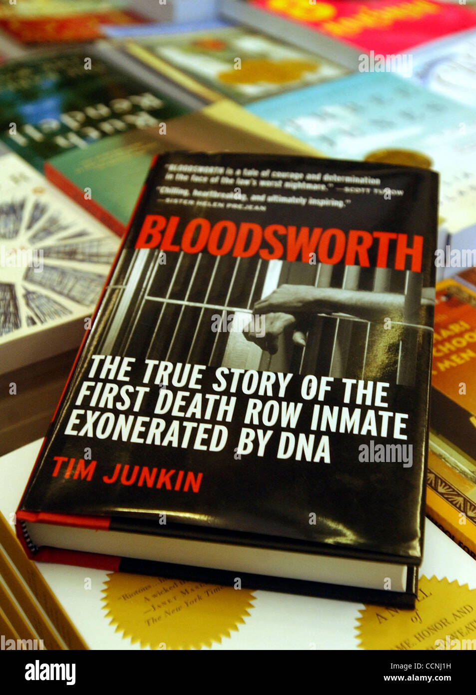 Author Tim Junkin's book, Bloodsworth, is about the first Death Row