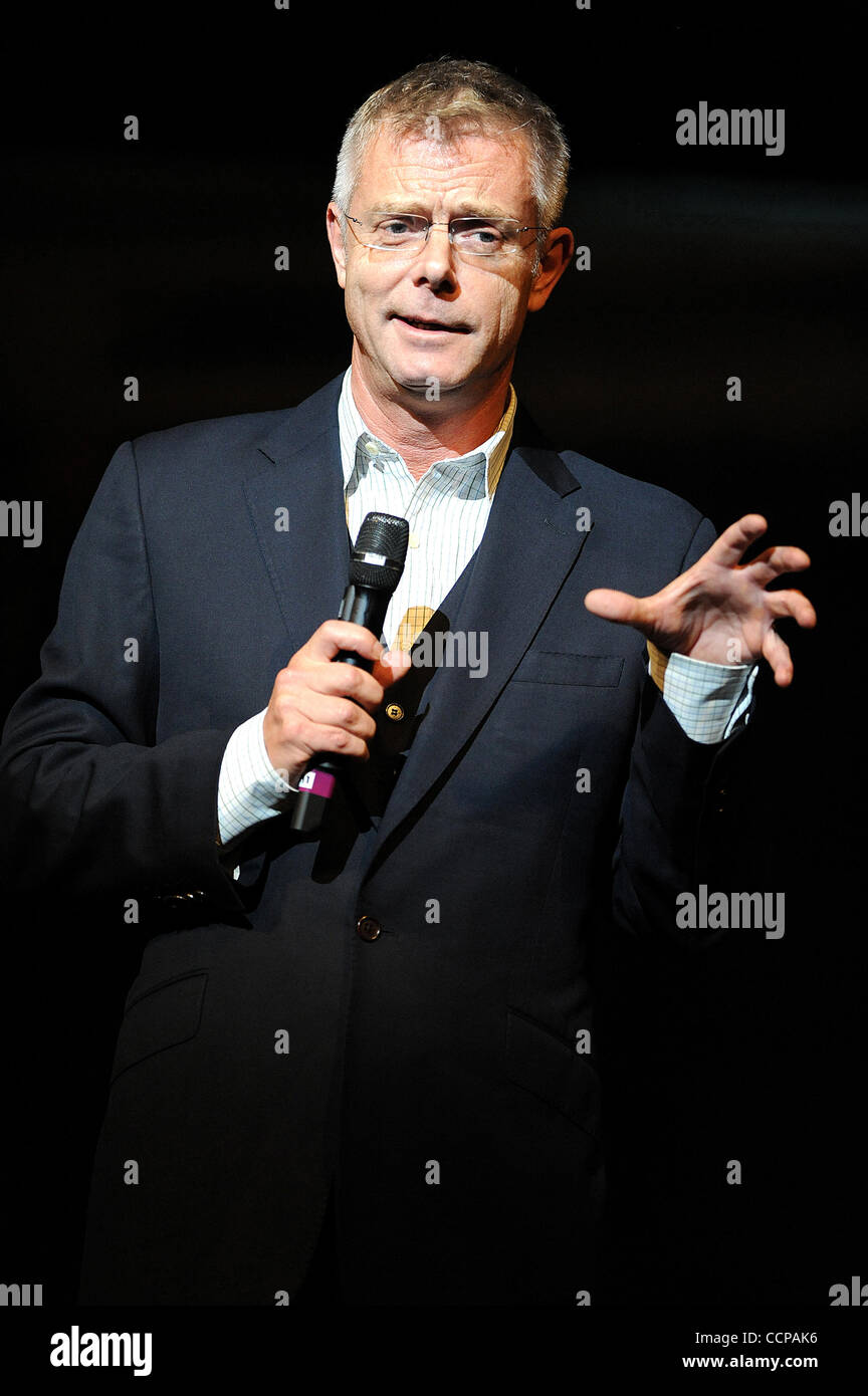 Oct 14, 2010 - Durham, North Carolina; USA -  Director STEPHEN DALDRY for the Broadway Musical BILLY ELLIOT The - Stock Image