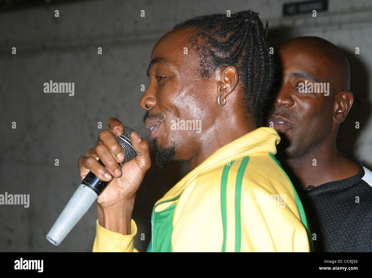 Oct. 12, 2003 - Hollywood, California, U.S. - I8054CHW.THE TASTE OF JAMAICA: PRESENTED BY THE CONSULATE OF JAMAICA. - Stock Image