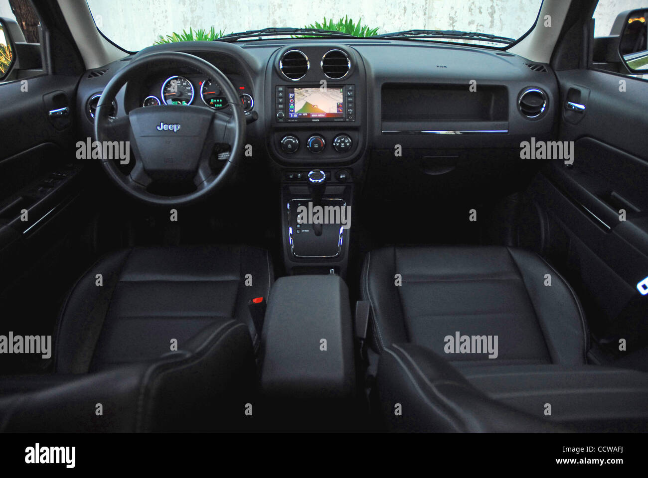 Jeep Dashboard Stock Photos Images Alamy 2010 Patriot Engine Diagram April 12 Los Angeles California Usa The