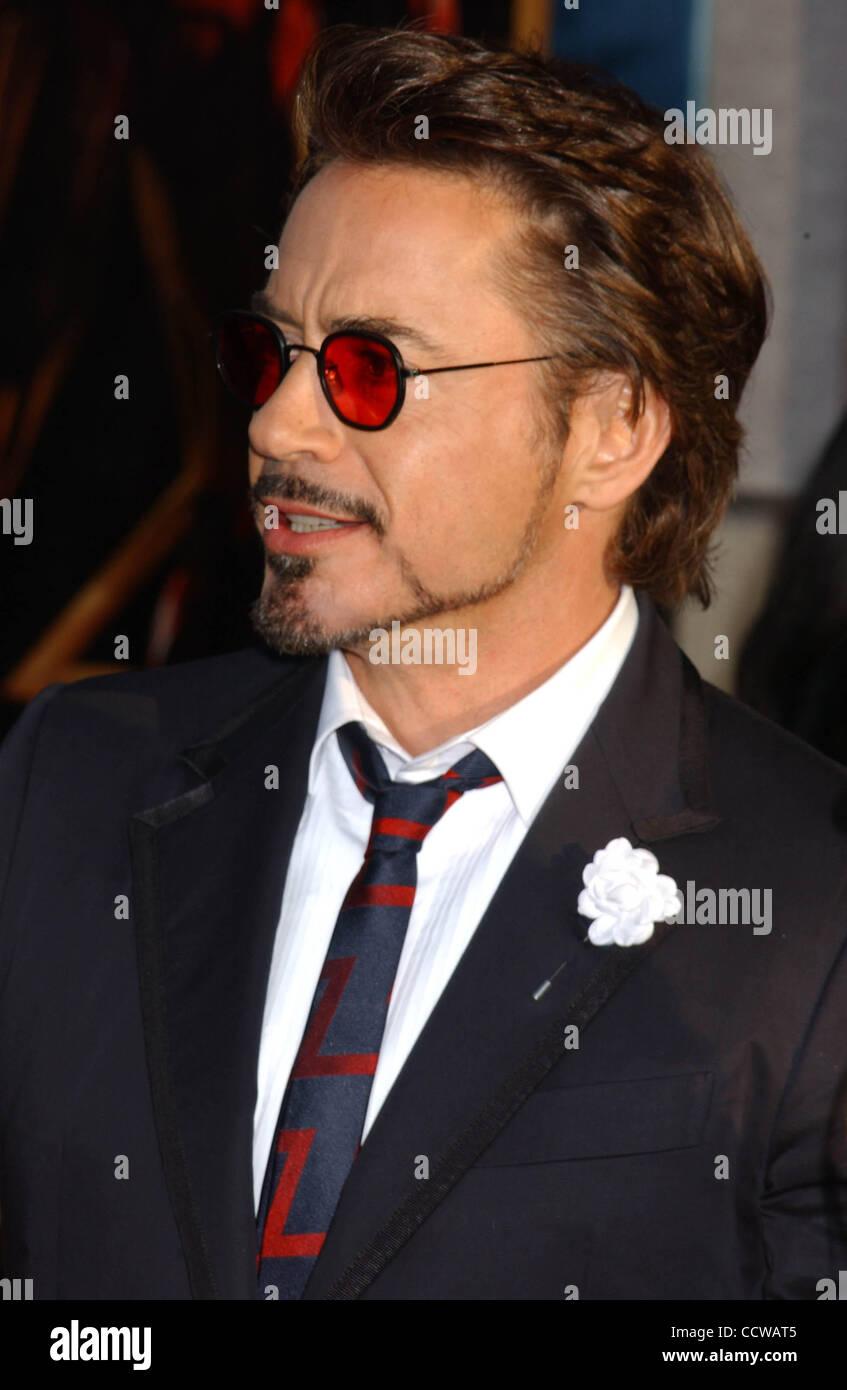 Iron Man 2 Robert Downey Jr Stock Photos Amp Iron Man 2