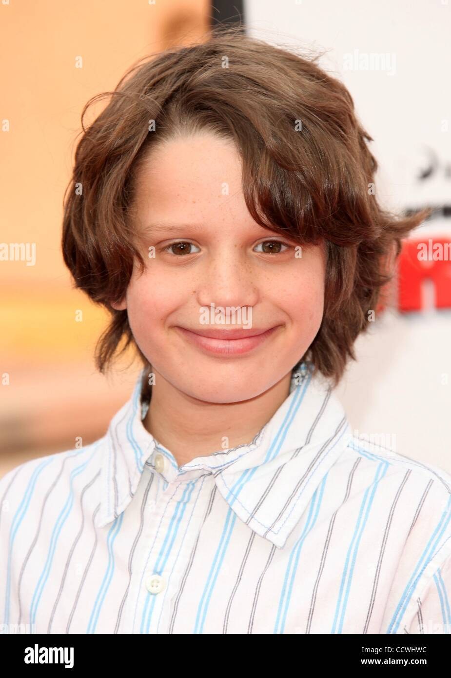 """Mar 21, 2010 - Universal City, California, USA - Actor BOBBY COLEMAN arriving to the """"How To Train Your Dragon"""" Stock Photo"""