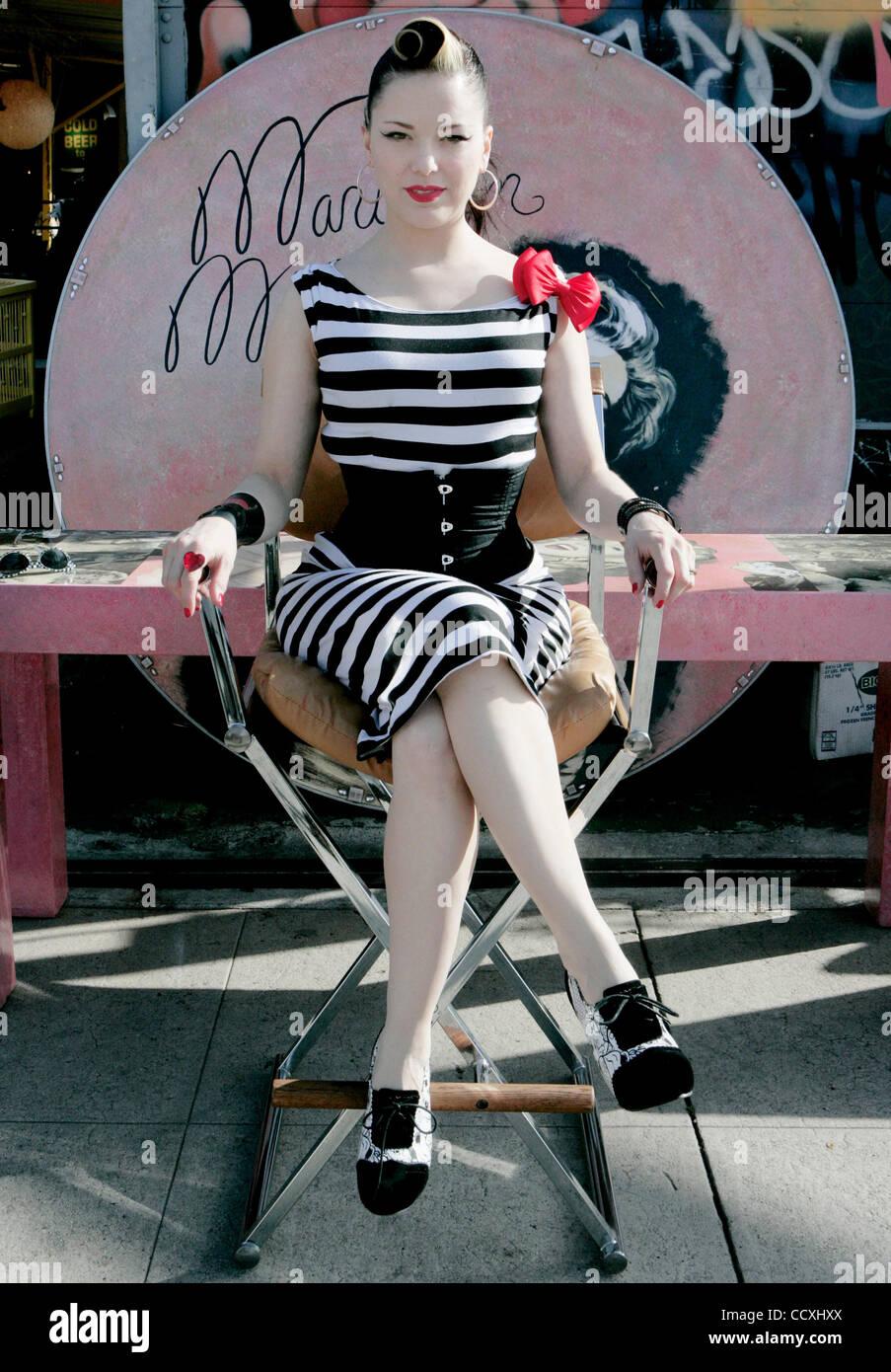 Apr 19 2010 Los Angeles California U S Singer Performer Imelda May