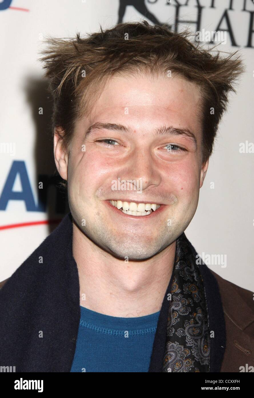 Apr 05 2010 New York New York Usa Actor Brandon Ruckdashel From Co Ed Confidential Attends The 2010 Skating With The Stars Benefit Gala For Figure