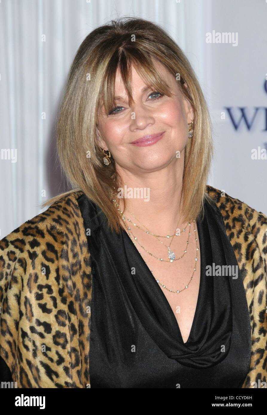 Mar 01, 2010 - Los Angeles, California, USA - Actress MARKIE POST  at the  'Ghost Whisperer' Celebrates - Stock Image