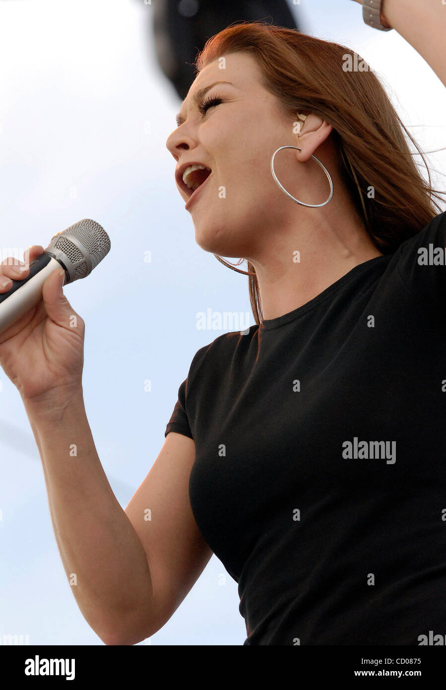 May 4 2008 Indio CA USA Musician GRETCHEN WILSON Performing