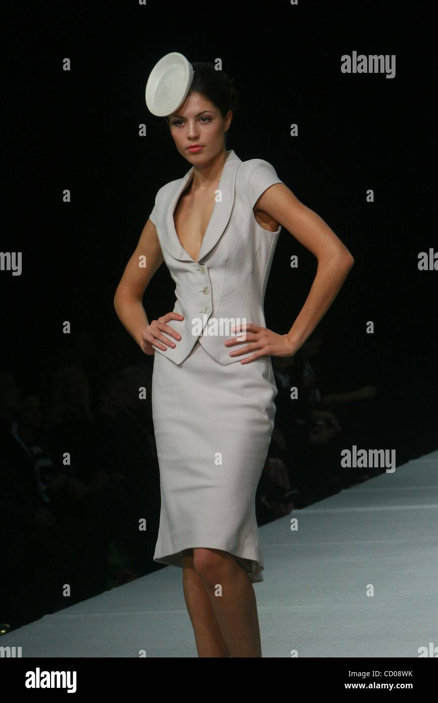 Oct 22 2008 Moscow Russia Collection Of Russian Fashion Stock Photo Alamy