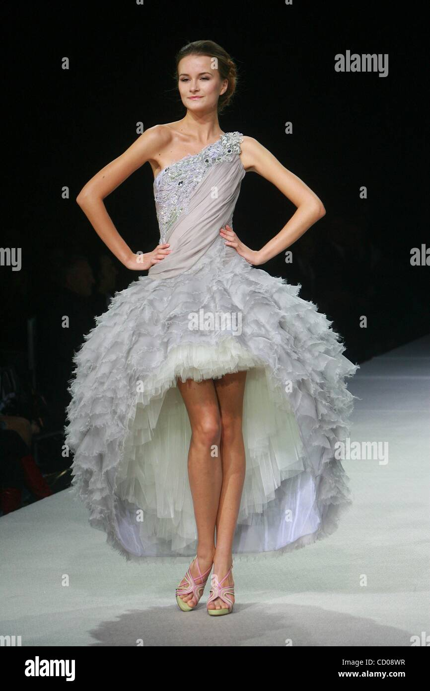 Oct 22 2008 Moscow Russia Collection Of Russian Fashion Stock Photo 42418259 Alamy