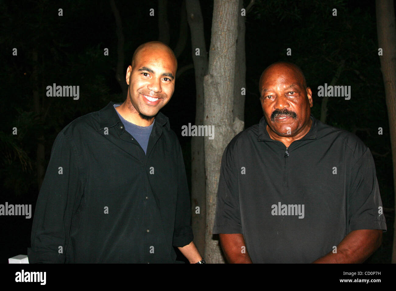 Jim Brown Family >> July 4 2008 Hollywood California U S I13405chw Nfl