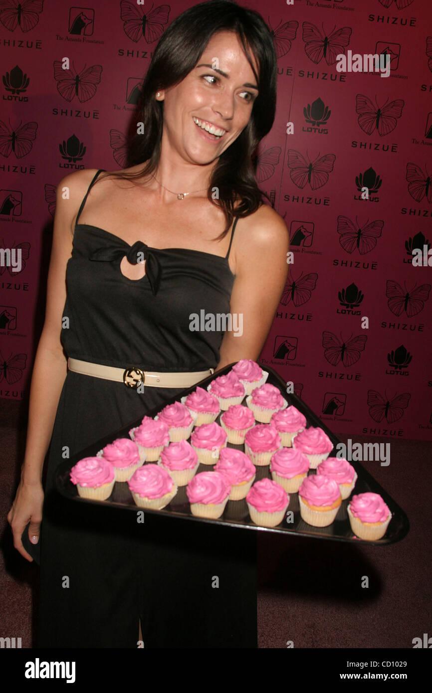 June 26, 2008 - Hollywood, California, U.S. - I13398CHW.''SHIZUE'' U.S. BOUTIQUE GRAND OPENING PARTY AND AMANDA Stock Photo