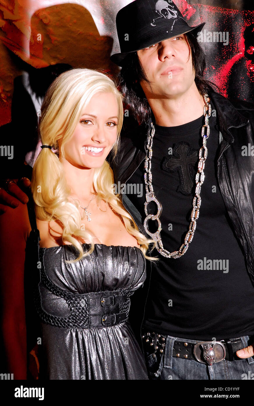 criss angel and holly madison stock photos & criss angel and holly