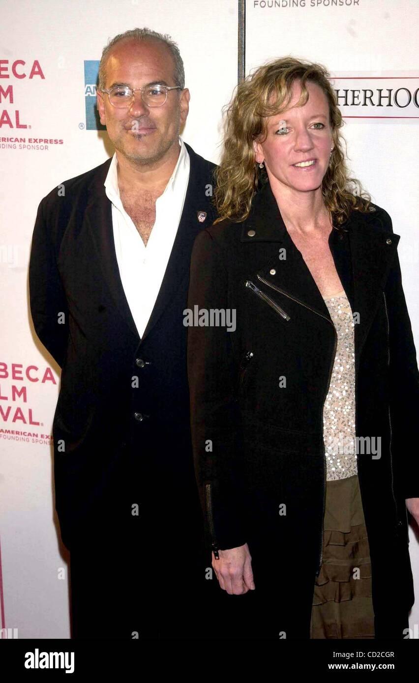 May 3, 2004 - New York, New York, U.S. - K37028JKRON.TRIBECA FILM FESTIVAL SCREENING OF .''BROTHERHOOD...LIFE INT Stock Photo