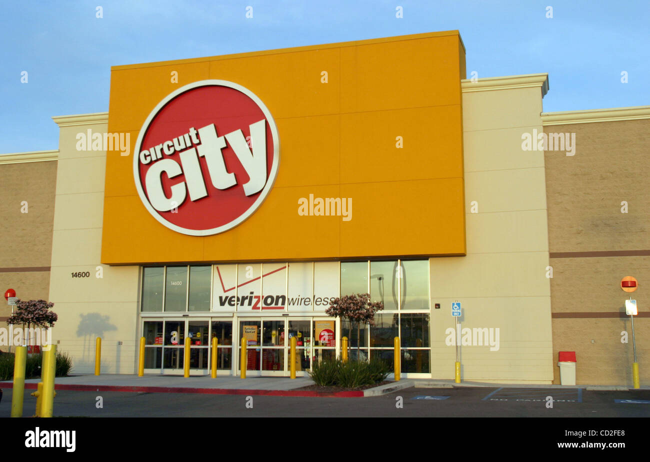 mar 16, 2005; los angeles, ca, usa; the electronic super store stockmar 16, 2005; los angeles, ca, usa; the electronic super store circuit city