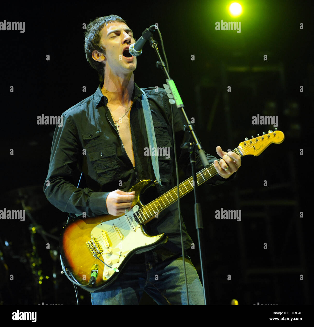 Apr 25, 2008 - Indio, California; USA - Musician RICHARD ASHCROFT of the band The Verve performs live as part of Stock Photo
