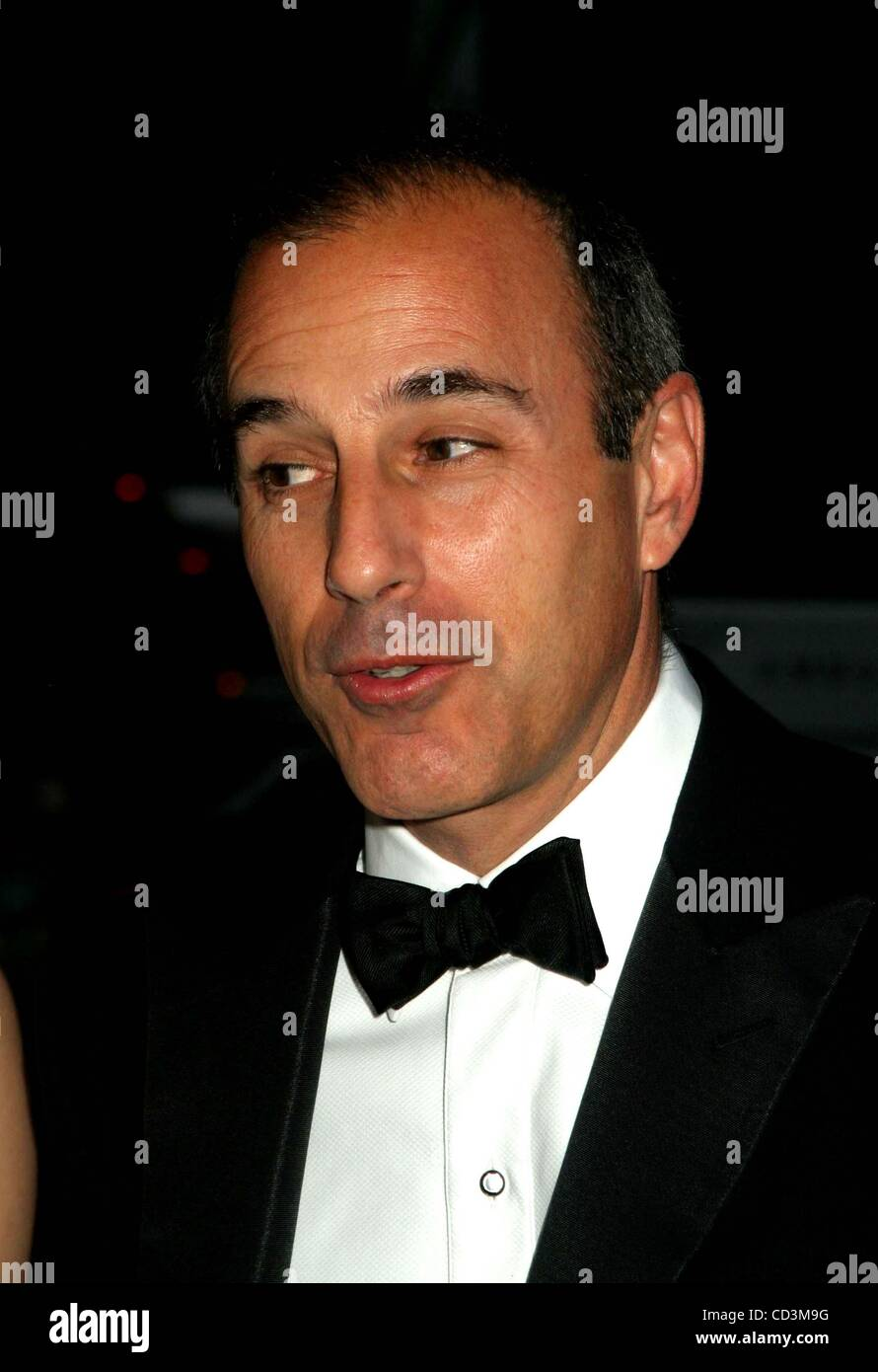 Matt Lauer Stock Photos Amp Matt Lauer Stock Images Alamy