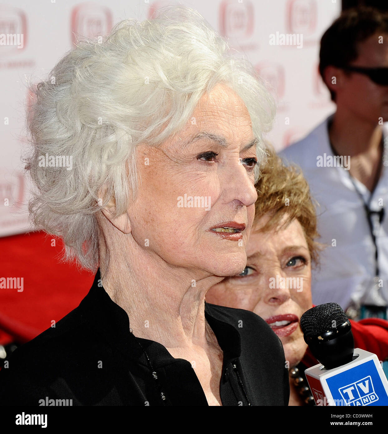 Bea Arthur Arrive At The 6th Annual Tv Land Awards In