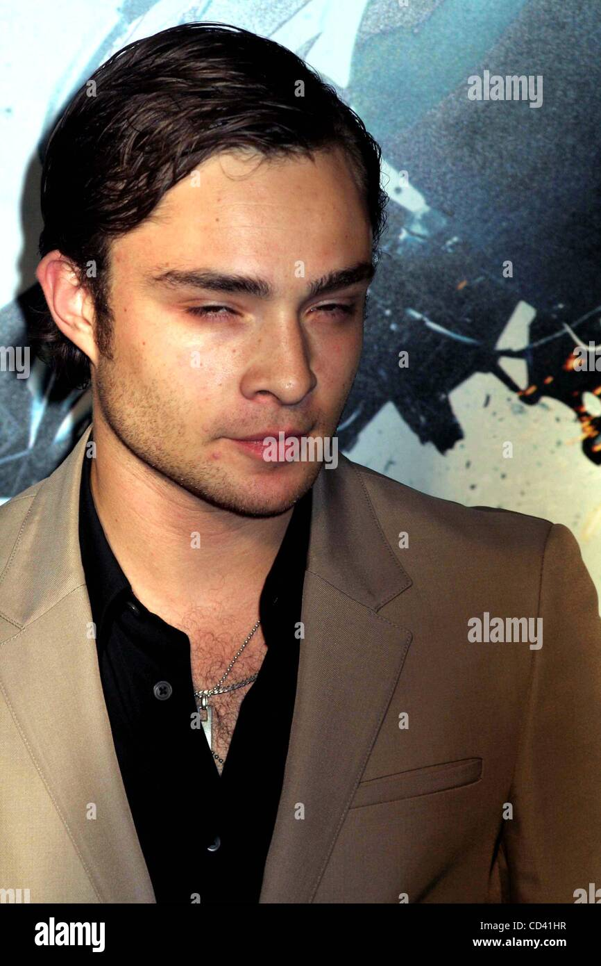 July 14, 2008 - New York, New York, U.S. - THE PREMIERE OF THE DARK KNIGHT AT AMC LOEWS LINCOLN SQUARE IN NEW YORK - Stock Image