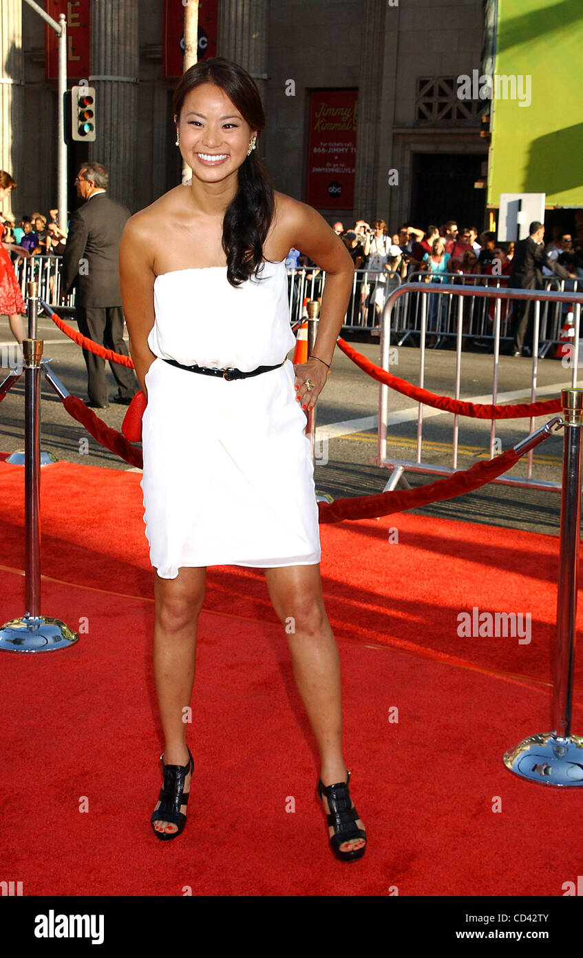 July 23, 2008 - Hollywood, California, U.S. - I13500PR.THE PREMIERE OF ''THE X-FILES: i WANT TO BELIEVE'' - Stock Image