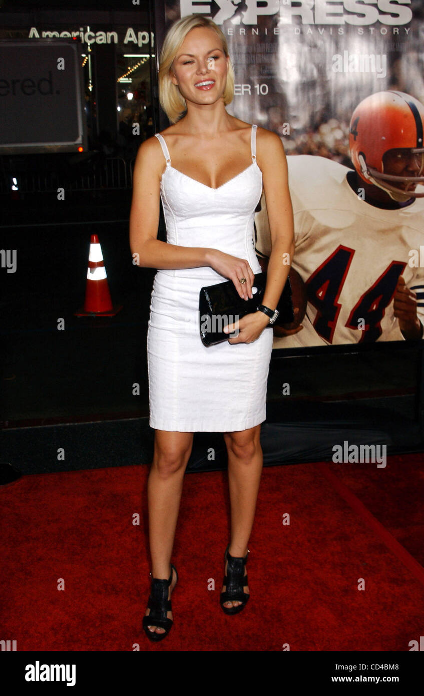 Sept. 25, 2008 - Hollywood, California, U.S. - I13230PR.THE PREMIERE OF ''THE EXPRESS'' AT CHINESE - Stock Image