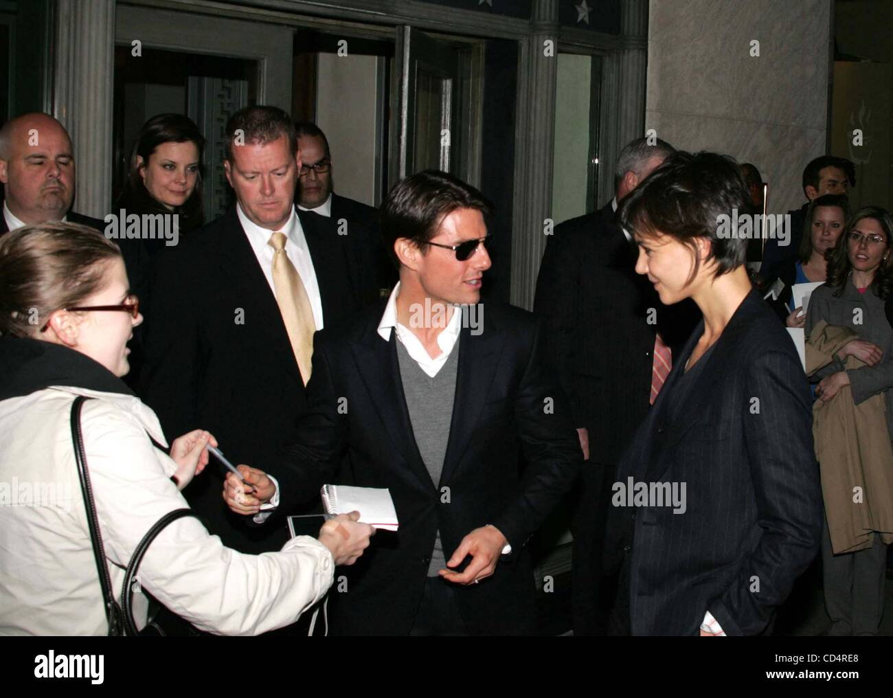 Oct. 20, 2008 - New York, New York, U.S. - CELEBRITY LADEN PRIVATE PARTY AT HERMES.MADISON AVENUE    10-20-2008. - Stock Image