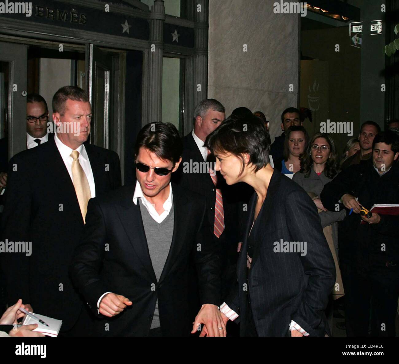 Oct. 20, 2008 - New York, New York, U.S. - CELEBRITY LADEN PRIVATE PARTY AT HERMES.MADISON AVENUE    10-20-2008. Stock Photo