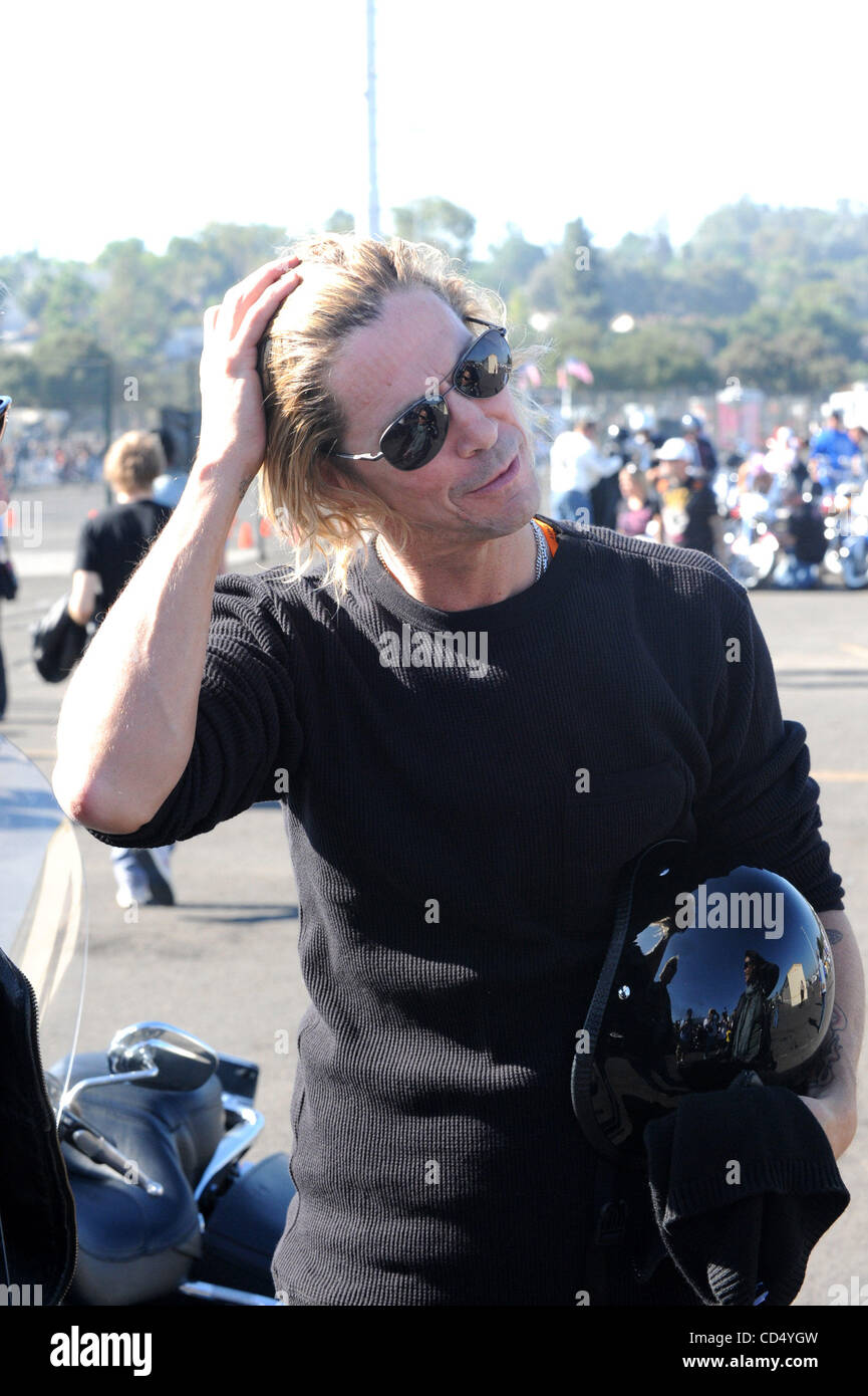 Oct 26, 2008-Pomona, California, USA-Musician DUFF at the 2008 Love Ride 25 held at the Pomona Fairgrounds.  (Credit - Stock Image