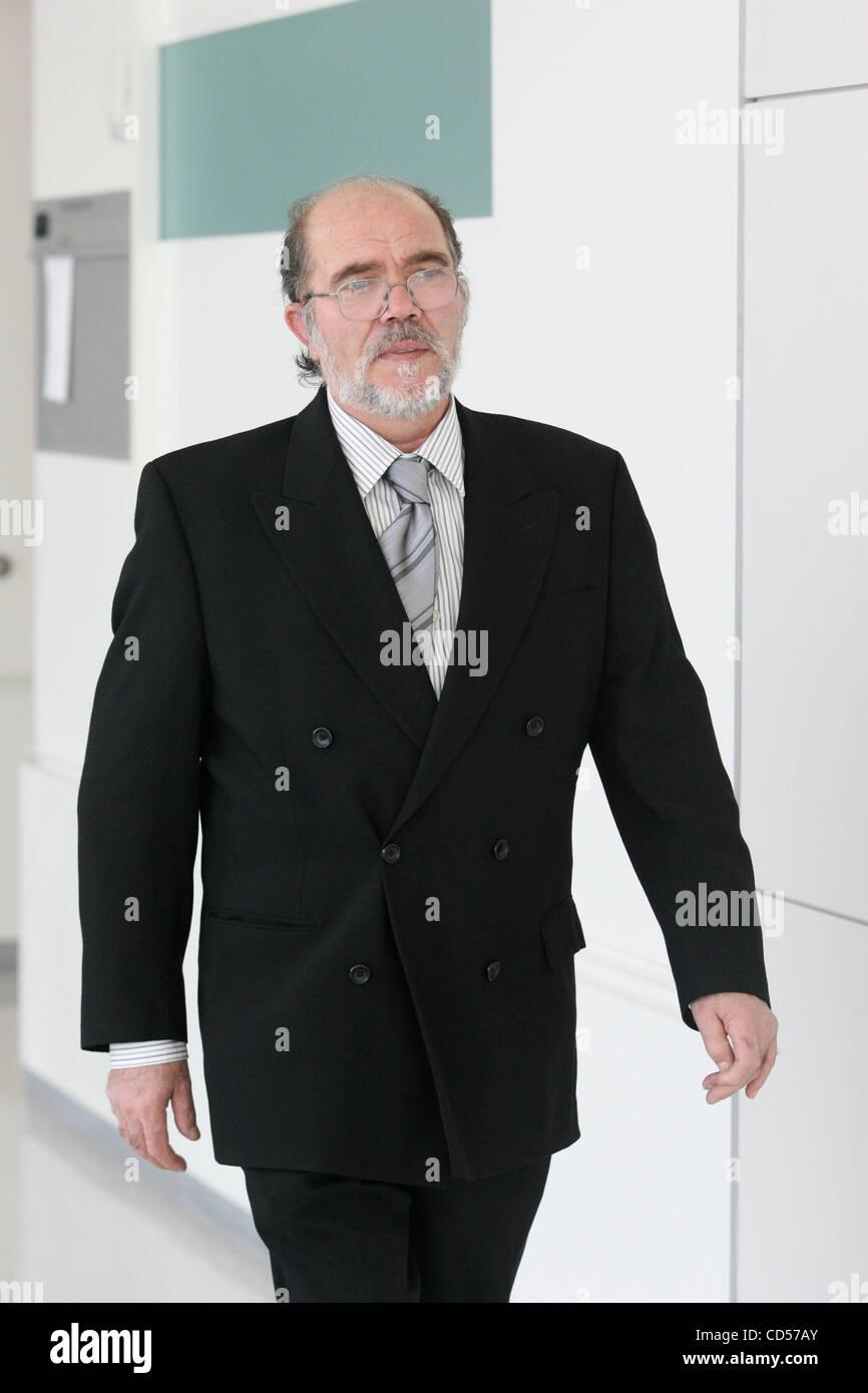 Lillo Brancato Sr  arriving court during of jury selection