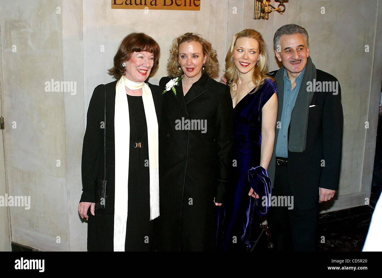 Jan. 9, 2003 - New York, New York, U.S. - K28485RM.'TARTUFFE' PLAY OPENING AT AMERICAN AIRLINES THEATRE - Stock Image