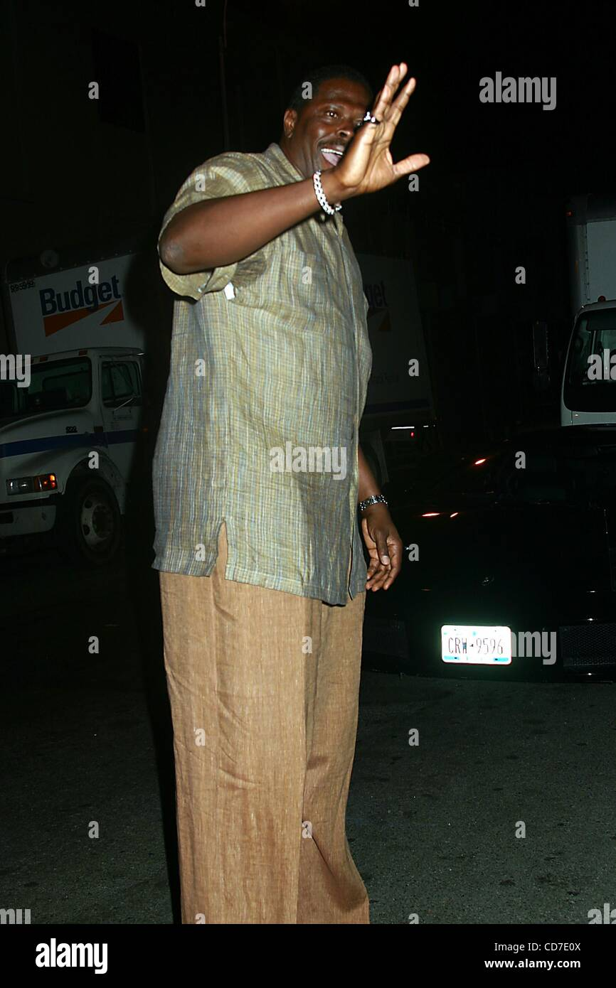 Aug. 25, 2004 - New York, New York, U.S. - K38939ML.PHARRELL WILLIAMS DEBUTES HOT NEW FOOTWEAR FLAVOR FROM ICE CREAM Stock Photo
