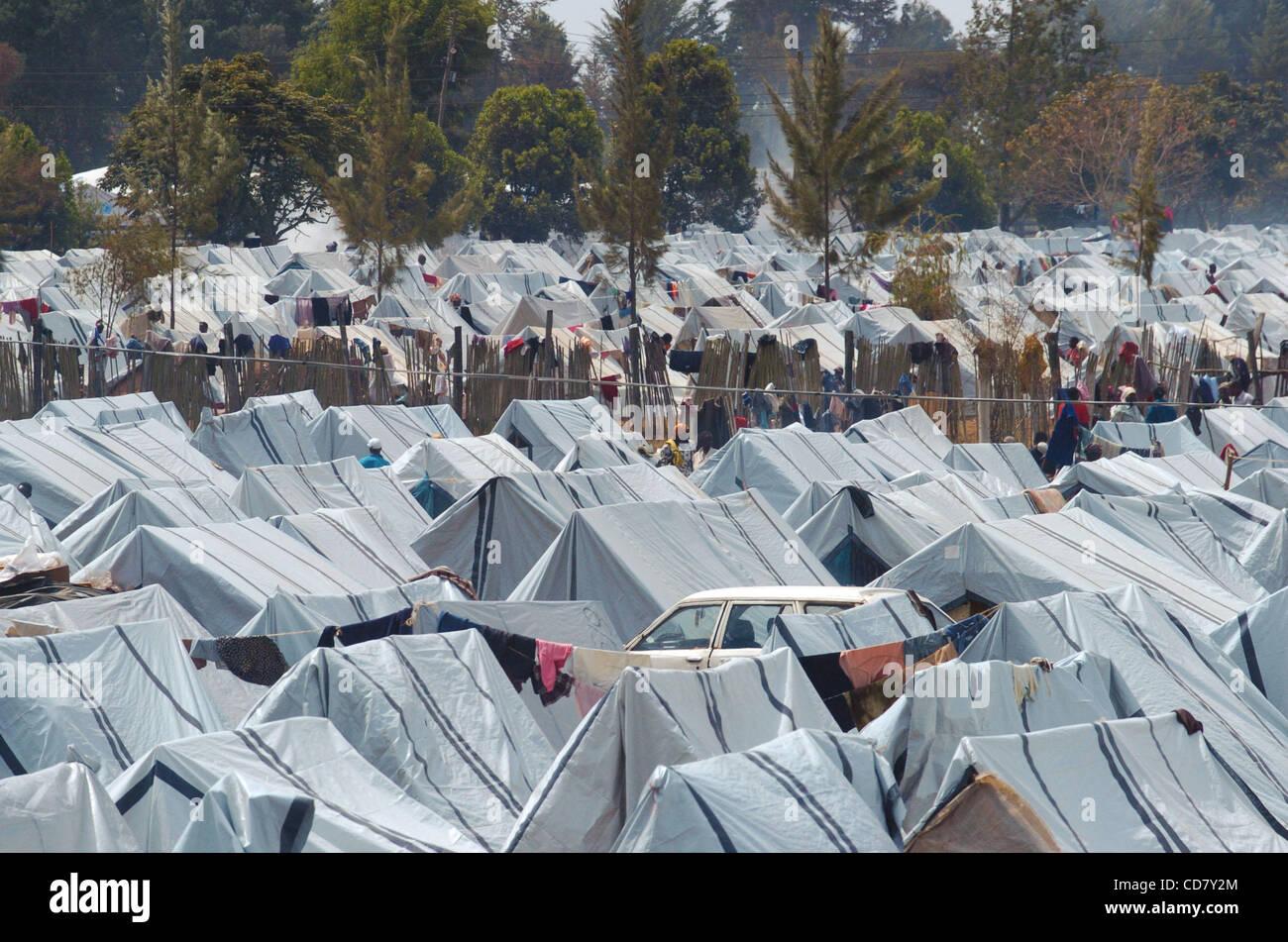 Mar 07, 2008 - Eldoret, Kenya - Kenya has been convulsed by ethnic bloodshed since President Mwai Kibaki's disputed Stock Photo