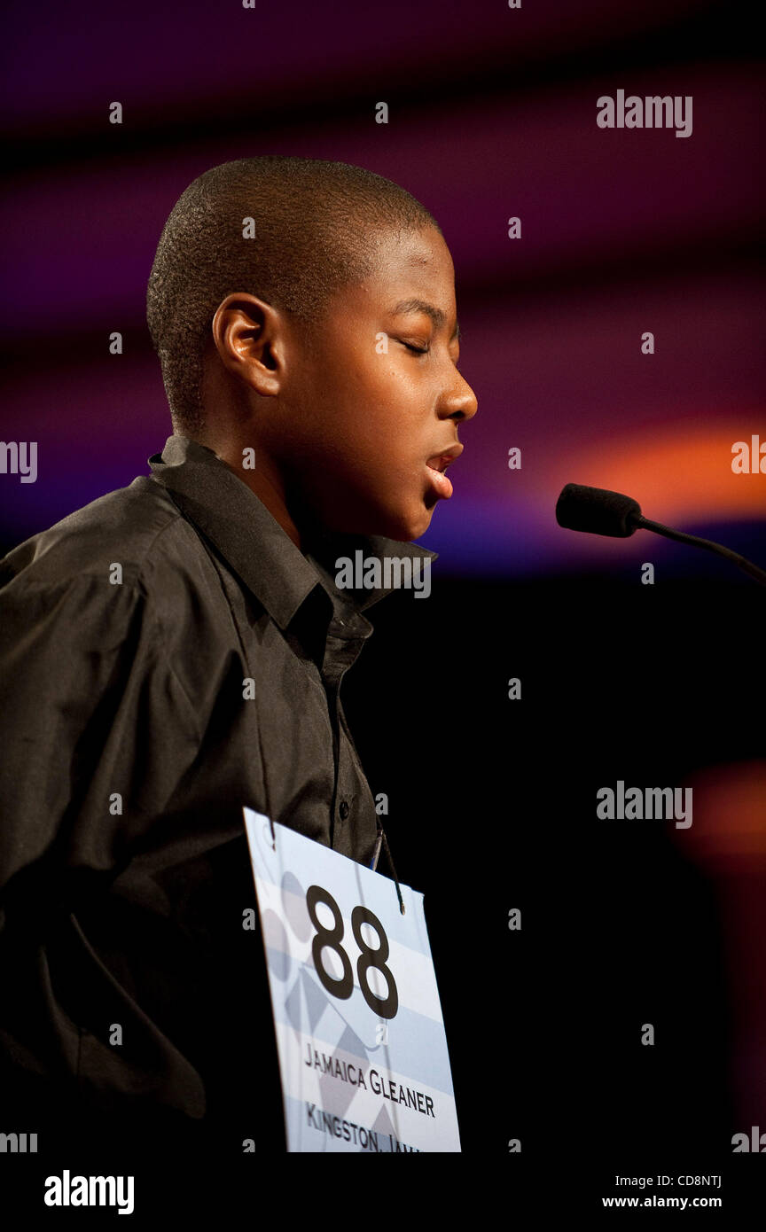 Scripps National Spelling Bee Stock Photos & Scripps National