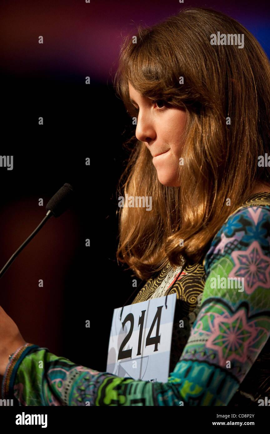 Jun 4, 2010 - Washington, District of Columbia, U.S., - Julianna Canabal-Rodriguez, 13, of Mayaguez , Puerto Rico, - Stock Image