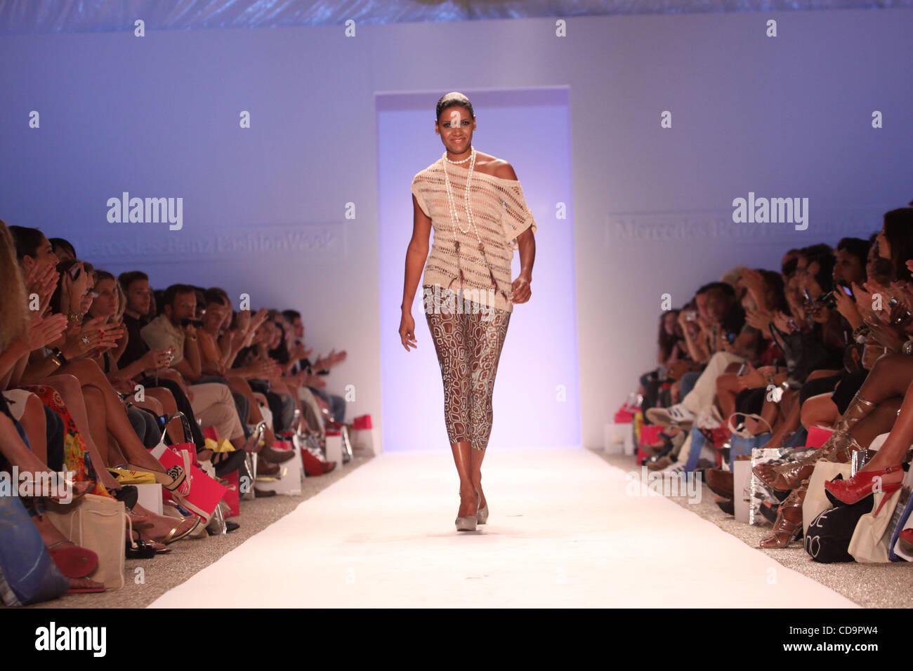 July 19 2010 Miami Beach Florida Us Designer Veronique De La