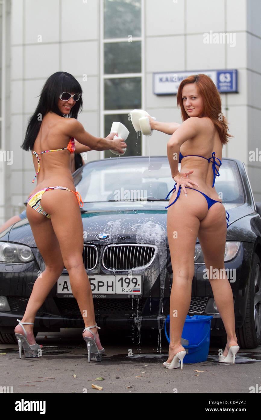 Girl on girl bikini action