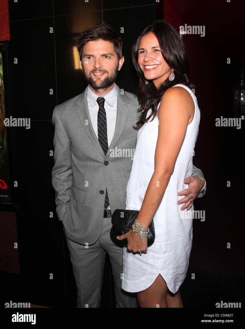 Adam scott actor dating