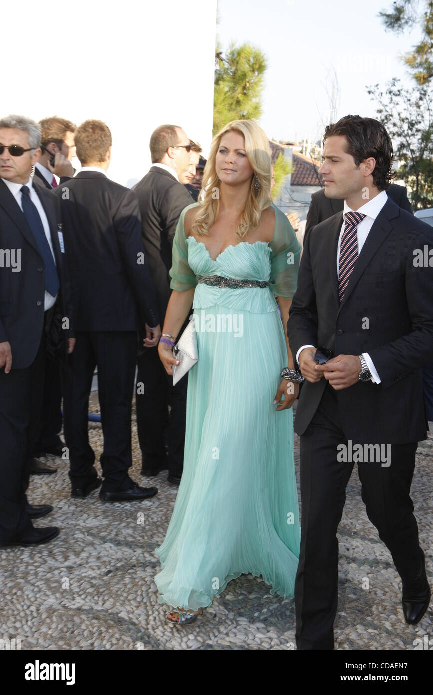 Aug. 25, 2010 - Spetses Island, Greece - Princess Madeline of Sweden ...