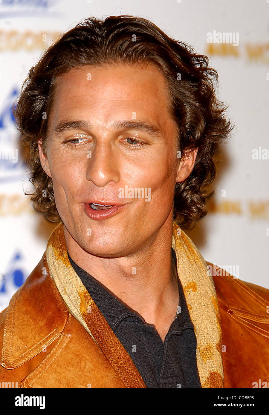 K28798AR           SD0203.KATE HUDSON AND MATTHEW McCONAUGHEY TO ANNOUNCE THE (NOMINEES FOR THE EIGHTH ANNUAL) AOL - Stock Image