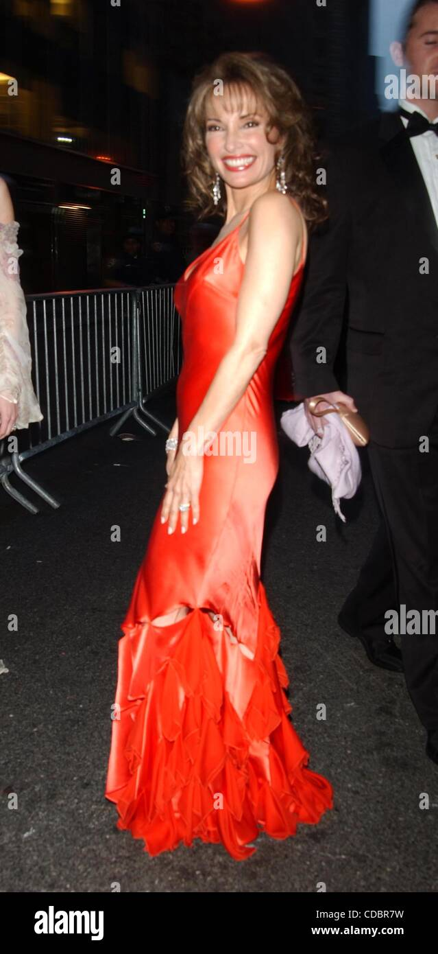 K37456AR.31ST DAYTIME EMMY AWARDS ARRIVALS AT  RADIO New York MUSIC HALL NEW YORK New York 05/21/2004.    /   2004..SUSAN - Stock Image
