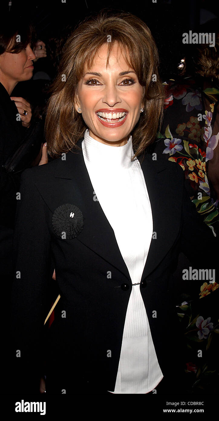 SUSAN LUCCI.K30704AR.30TH ANNUAL DAYTIME EMMY AWARDS (ARRIVALS) AT RADIO New York MUSIC HALL IN NEW YORK New York.5/16/2003. - Stock Image