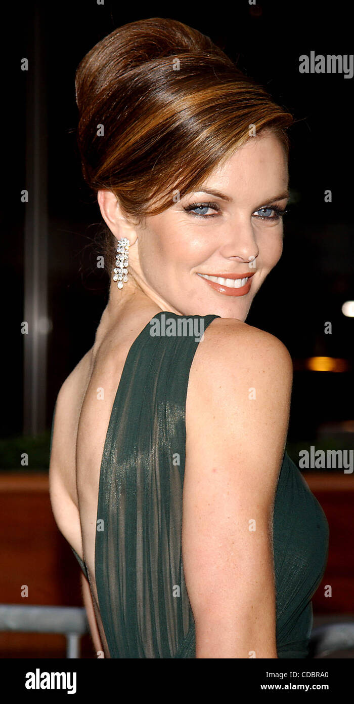SUSAN WALTERS.K30704AR.30TH ANNUAL DAYTIME EMMY AWARDS (ARRIVALS) AT RADIO New York MUSIC HALL IN NEW YORK New York.5/16/2003. - Stock Image