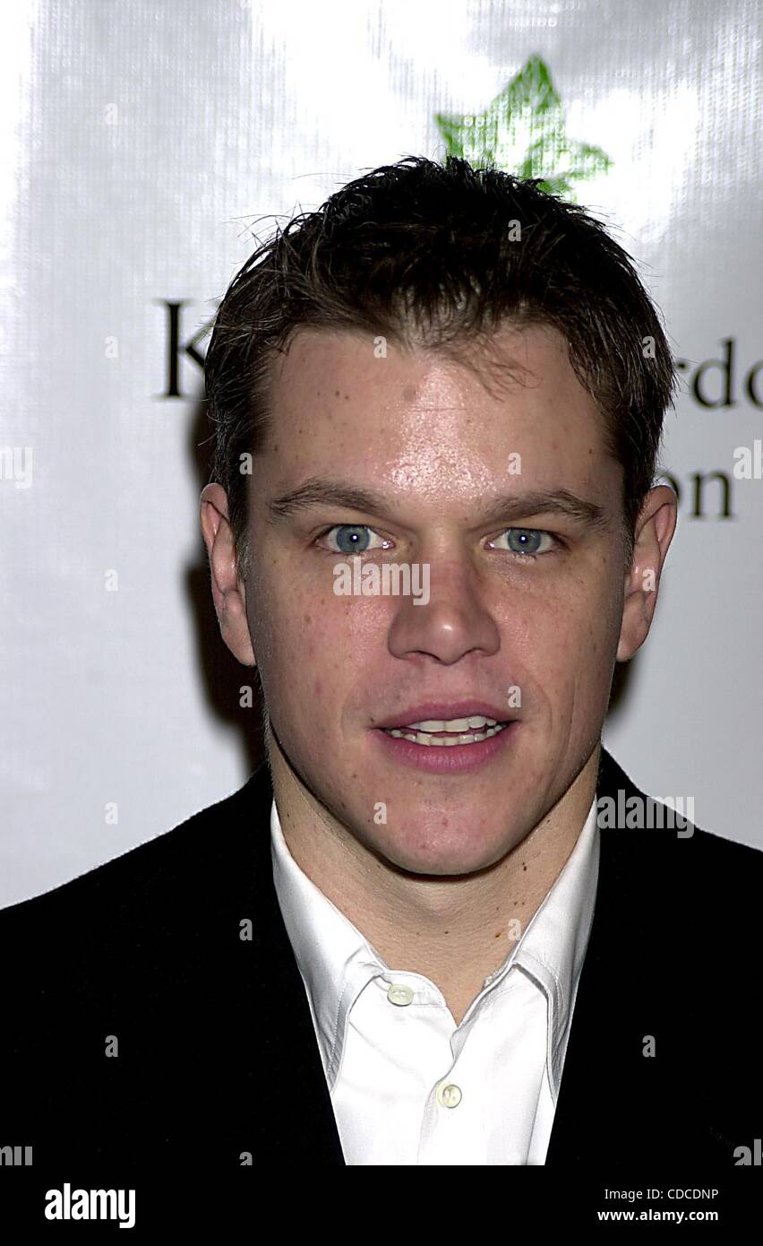 Jan. 1, 2011 - New York, New York, U.S. - K28141JKRON..CONFESSIONS OF A DANGEROUS MIND PREMIERE AFTER-PARTY AND - Stock Image