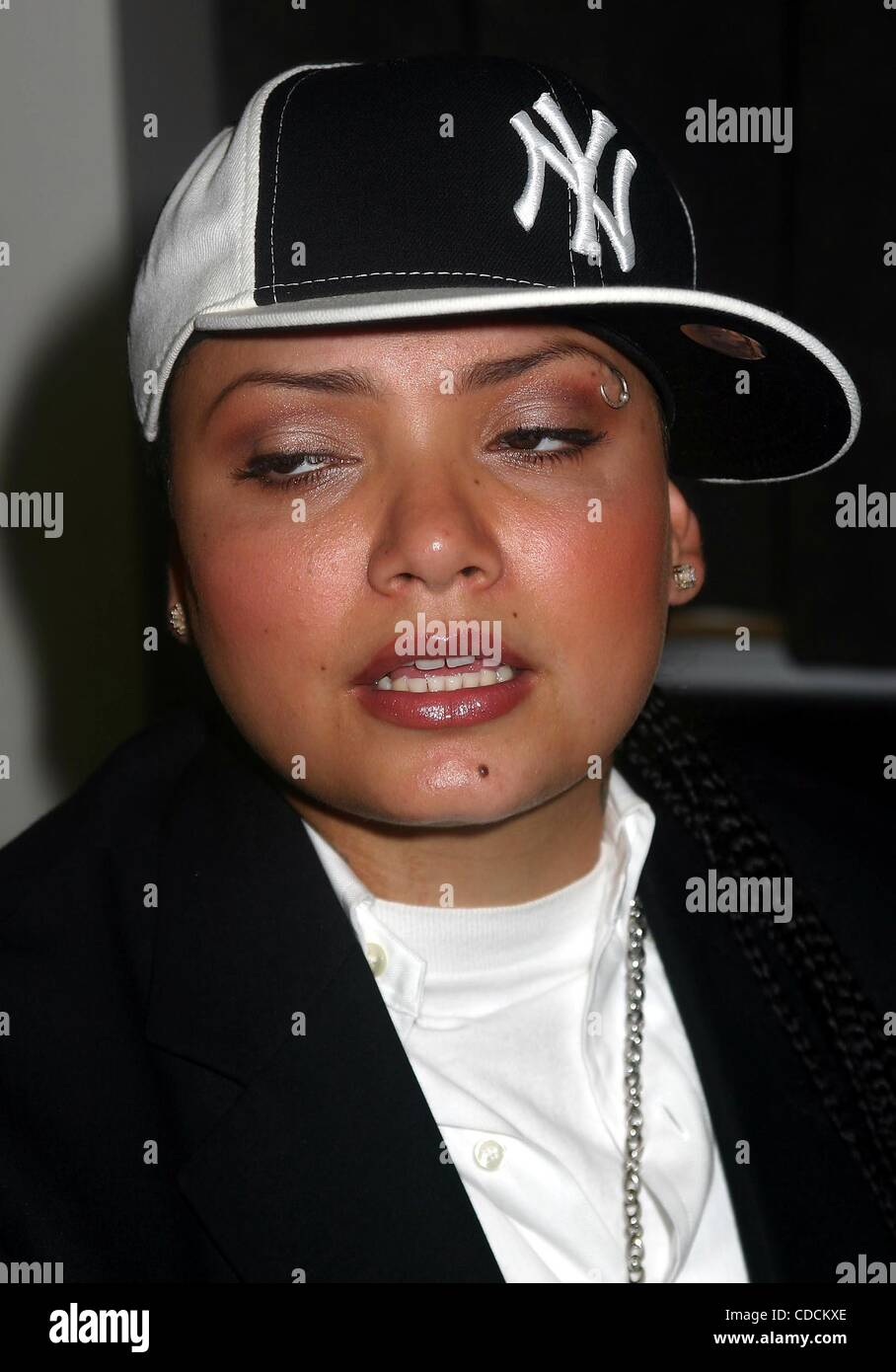 VIRGIN RECORDS NEWLY SIGNED ARTIST AMANDA PEREZ HOLDS PRESS LUNCHEON AT  VIRGIN'S 5TH AVE OFFICE 06/08/2004. / 2004.(Credit Image: © Mitchell  Levy/Globe ...