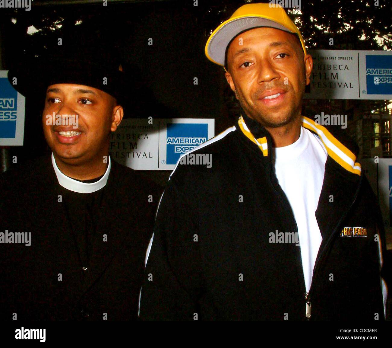 REV. JOSEPH SIMMONS (RUN OF RUN DMC) WITH HIS BROTHER RUSSELL SIMMONS.K30503ML.PREMIERE OF ''DEATH OF A - Stock Image