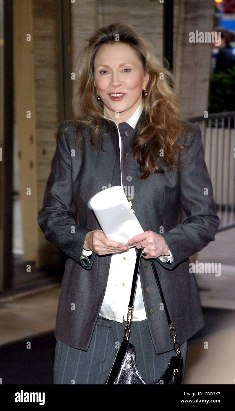 Jan. 1, 2011 - New York, New York, U.S. - K30426RM  SD05/05/2003.FILM SOCIETY OF LINCOLN CENTER'S TRIBUTE TO - Stock Image