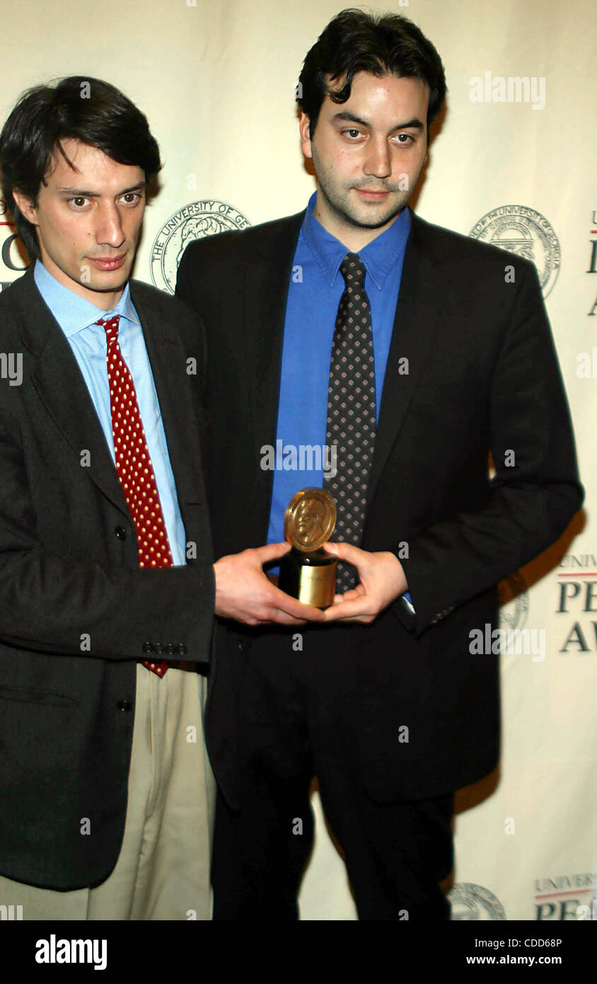 Jan. 1, 2011 - New York, New York, U.S. - K30753RM.  SD05/19/2003..62ND ANNUAL GEORGE FOSTER PEABODY AWARDS AT THE - Stock Image