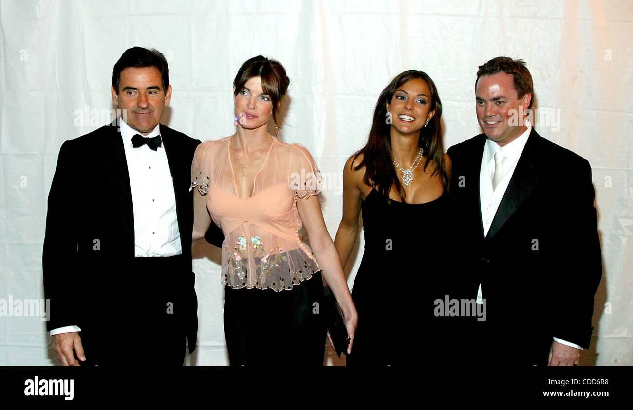 Jan. 1, 2011 - New York, New York, U.S. - PETER GRANT, STEPHANIE SEYMOUR AND EVA LARUE.K30436RM.THE AMERICAN BALLET - Stock Image