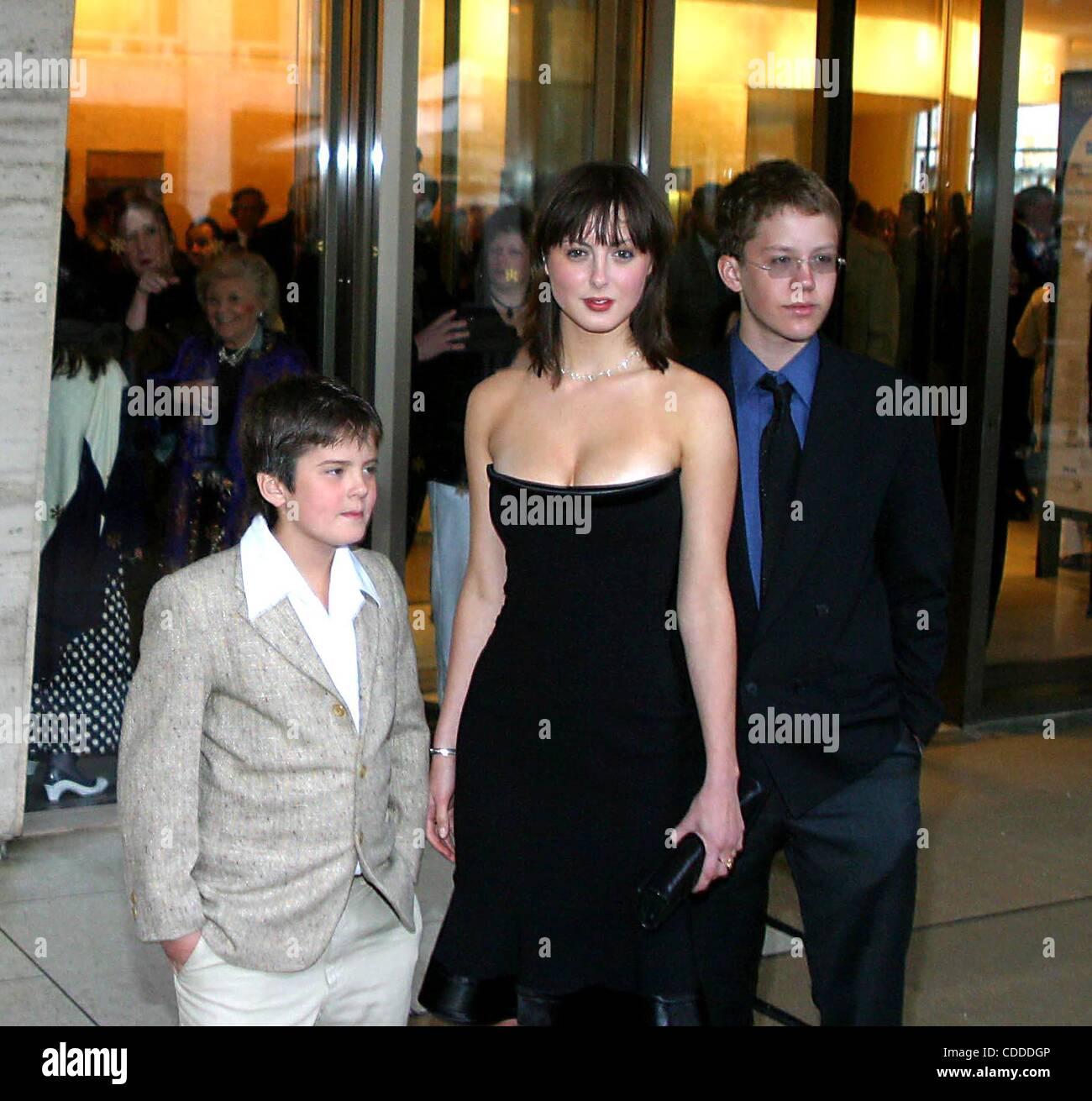Jan. 1, 2011 - New York, New York, U.S. - K30426RM  SD05/05/2003.FILM SOCIETY OF LINCOLN CENTER'S TRIBUTE TO .SUSAN Stock Photo