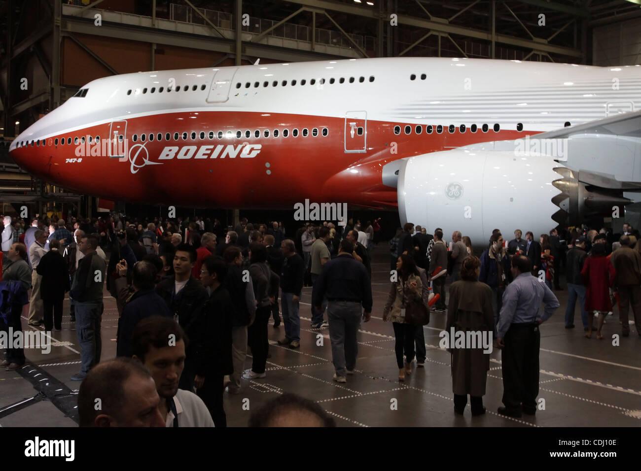 747 Boeing Everett Stock Photos & 747 Boeing Everett Stock